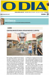 Centro investe para atrair novos clientes