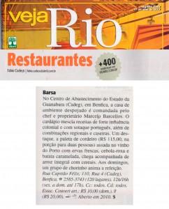 Rio Restaurantes - Barsa